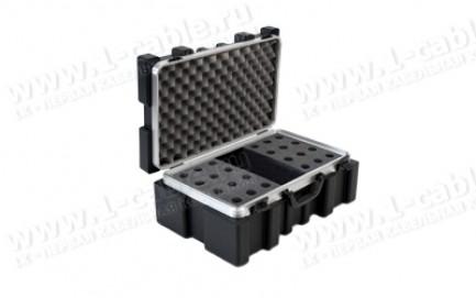 Фото4 BC-MIC24-.. Профессиональный кофр из ударопрочного пластика для хранения и перевозки 24 микрофонов,