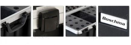Фото5 BC-MIC24-.. Профессиональный кофр из ударопрочного пластика для хранения и перевозки 24 микрофонов,