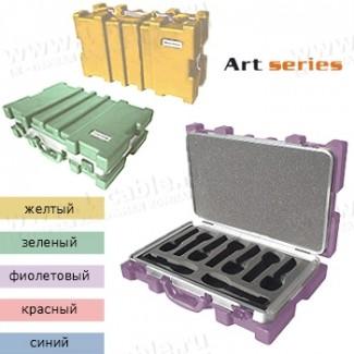 Фото1 BC-MIC9-.. Профессиональный кофр из ударопрочного пластика для хранения и перевозки 9 микрофонов