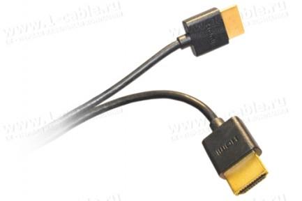 Фото11 HDMIC-MM-0.. Компактный эластичный кабель HDMI с Fast Ethernet, серия Compact, штекер (тип A) > штек