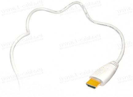 Фото14 HDMIC-MM-0.. Компактный эластичный кабель HDMI с Fast Ethernet, серия Compact, штекер (тип A) > штек