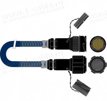 Фото1 1K-PS48TT-.. 48-кан. туровый балансный аудиомультикорный кабель, Tourline 150-пин штекер > Tourline