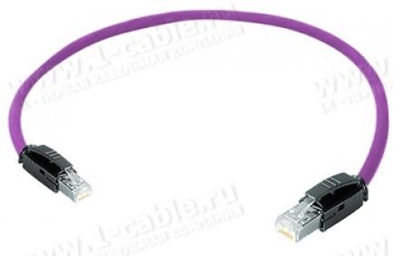 Фото1 1K-RRC5F-1..G Кабель коммутационный, Graded-Patch, повышенная надежность, Ethernet, категория 5e S/U