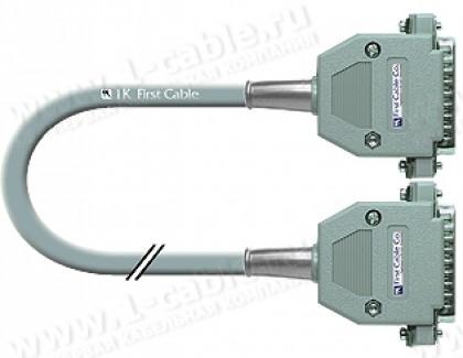 Фото1 1K-RS232-25MM-0.. Кабель управления RS-232, серия Standart, D-Sub 25пин, штекер-штекер, эластичный