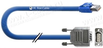 Фото1 1K-RS42-1.. Кабель контрольно-измерительный, D-Sub 9-пин гнездо > 1x RJ45 штекер