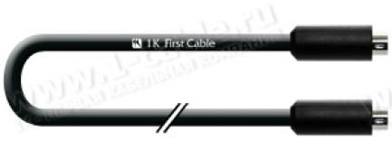 Фото1 1K-RS52-.. Кабель управления RS-232, серия Standart, miniDIN 8пин штекер > miniDIN 8пин штекер, элас