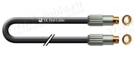 Фото1 1K-V11-.. Кабель видео Y/C (S-Video кабель), Standart, S-Video 4pin штекер > S-Video 4pin штекер (mi