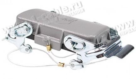 Фото1 09300..542.. Защитная крышка для кабельных разъемов Harting (2 защелки)