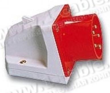 Фото1 AC-05..6 Накладной приборный штекер CEE-типа, боковой ввод, IP44