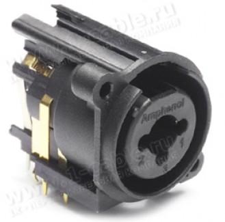Фото2 ACJC10A.. Разъем Combo (XLR3 + Jack 6.3 стерео) панельный, с нормализацией и выключателем заземления