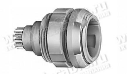 Фото1 CKB.M16.GL.. Разъём многоконтактный панельный, гнездо, серия P (Plastic REDEL)
