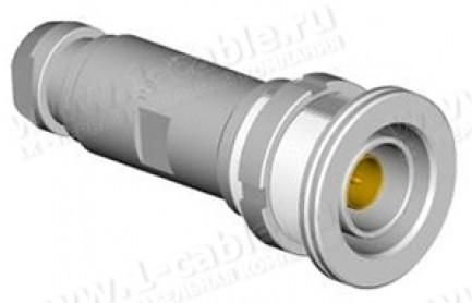 Фото1 DSR 1051 A004-.. Разъём триаксиальный универсальный, кабельный/панельный, штекер, 75 Ом