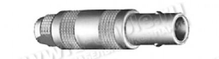 Фото1 FFA.00.250..TAC.. Разъём коаксиальный, кабельный, штекер, серия 00.250 (NIM-CAMAC), 50 Ом, цанговый