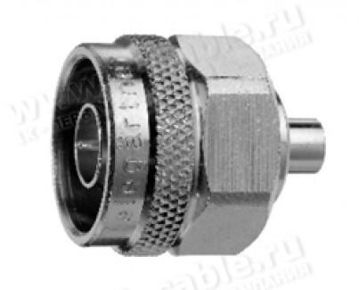 Фото1 J01020A011. Разъем N кабельный, пайка, штекер, 50 Ом