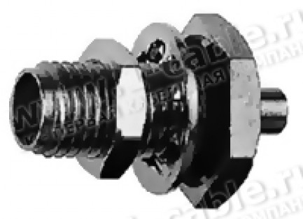 Фото1 J01151A09.1 Разъём SMA кабельный/панельный, гнездо, пайка, 50 Ом