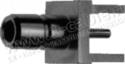 Фото1 J01160A021. Разъём SMB для установки в печатную плату, штекер, пайка, 50 Ом