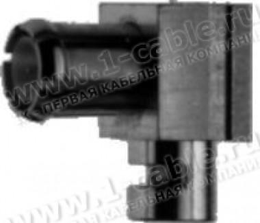 Фото1 J01270A0..1 Разъем MCX кабельный, штекер, угловой, пайка, 50 Ом