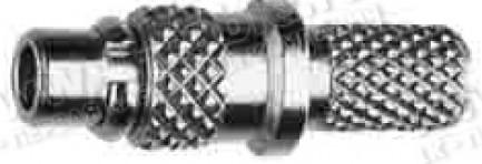 Фото1 J01340A01.1 Разъем MMCX кабельный, штекер, обжим, 50 Ом