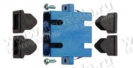 Фото1 J08081A001. Оптический адаптер панельный дуплексный серии SC, проходной