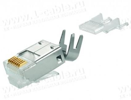 Фото2 J80026A0.. Разъем RJ45 кабельный STX, экранированный, IP20, без хвостовика