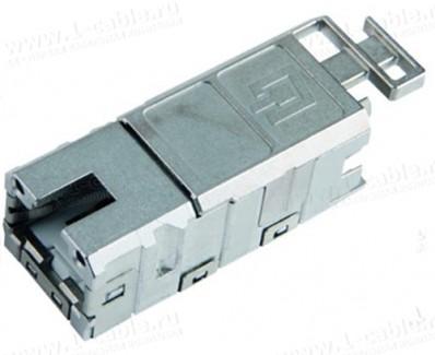 Фото1 J80029A000. Разъем панельный RJ45, гнездо, вставка для серии STX Variant 1