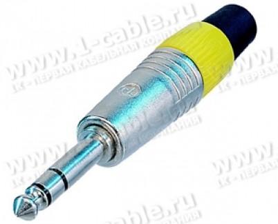 Фото1 NP3C.. Jack 6.3 мм штекер на кабель, балансный (стерео)
