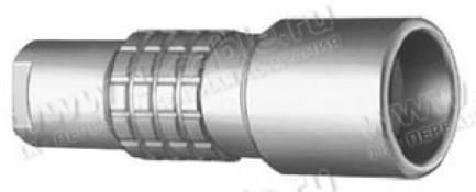 Фото1 PCA.4Е.675.CTLC.. Разъём триаксиальный, панельный/кабельный, гнездо, серия 4Е, 75 Ом