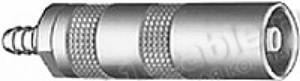 Фото1 PCS.00.250.NTME.. Разъём коаксиальный, кабельный, гнездо, серия 00.250 (NIM-CAMAC), 50 Ом