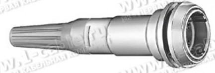 Фото1 PEW.3K.93C..L..96Z Разъём многоконтактный кабельно-панельный, гнездо, резьба - гайка, серия 3K