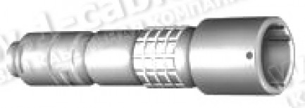 Фото1 PUW.3K.93C..LCC96. Разъём многоконтактный, кабельное гнездо, серия 3K