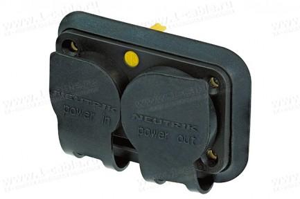 Фото3 SCNAC-.. Защитная резиновая заглушка для панельных разъемов серии powerCON TRUE1