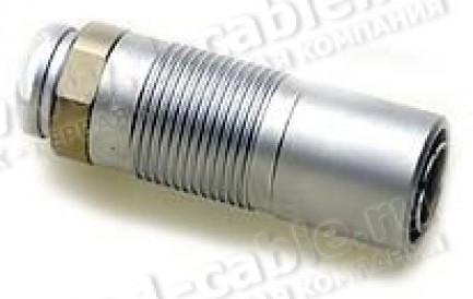 Фото1 SE 1051 A004-4 .. Разъём триаксиальный, кабельный, штекер, 75 Ом (модуль обжима в комплекте)