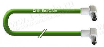 Фото1 1K-VT38-1.. Кабель Антенный 75 Ом, IEC штекер > IEC гнездо