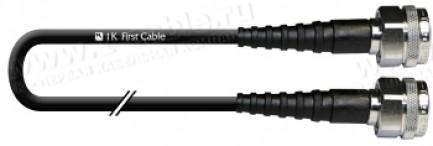 Фото1 1K-VT43-... Кабель коаксиальный 50 Ом, на основе кабеля LMR-195LL, N штекер > N штекер