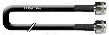 Фото1 1K-VT45-... Кабель коаксиальный 50 Ом, на основе кабеля RG-213, N штекер > N штекер