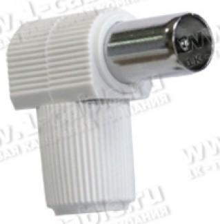 Фото1 MC-095 - Разъем IEC, антенный, штекер, угловой