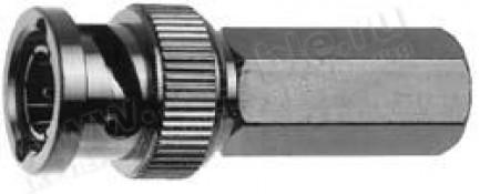 Фото1 J01002A0015 - Разъём BNC для RG-59B/U кабельный, штекер, резьбовая посадка, 75 Ом