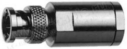 Фото1 J01002A1940 - Разъём BNC кабельный для RG-11, штекер, муфта (закрутка), 75 Ом