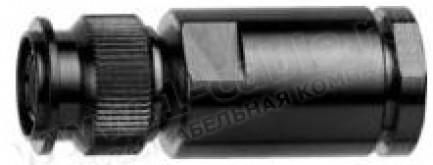 Фото1 J01012A0001 - Разъём TNC кабельный, штекер, муфта- закрутка, IP 67, 75 Ом