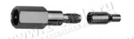 Фото1 J01700A0007 - Разъем FME кабельный, Standart, штекер удлиненный, обжим