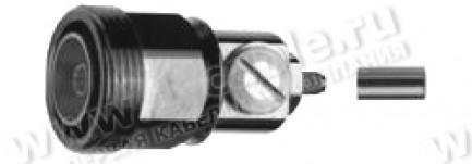 Фото1 J01121A0019 - Разъем 7-16 кабельный, гнездо, обжим, 50 Ом
