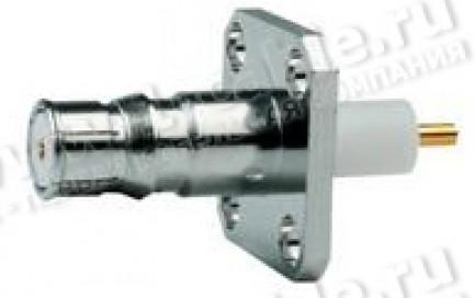 Фото1 J01421A0025 - Разъём QLS панельный с автоматическим замком-фиксатором, крепление- фланец, гнездо, па