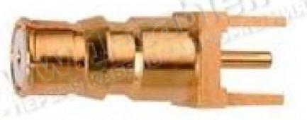 Фото1 J01421A0033 - Разъём QLS на печатную плату, с автоматическим замком-фиксатором, гнездо, пайка, 50 Ом