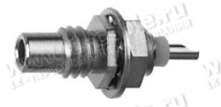 Фото1 J01170A0001 - Разъём SMC панельный, штекер, крепление- резьба, пайка, 50 Ом