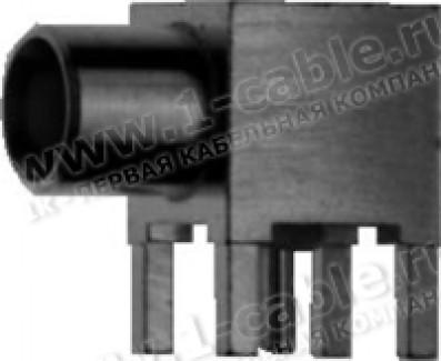 Фото1 J01271A0161 - Разъем MCX, угловой, гнездо, для печатных плат