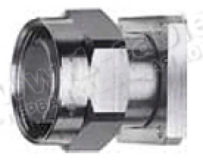 Фото1 J01120A0043 - Разъём 7-16 панельный, штекер, квадратный фланец 4 отв., герметичное уплотнение, 50 Ом
