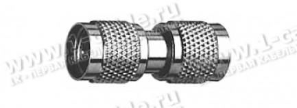Фото1 J01047F0000 - Переходник Mini-UHF, штекер > штекер