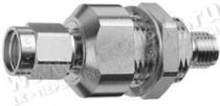 Фото1 J01158R0001 - Грозоразрядное устройство R-SMA с газовой капсулой и возможностью установки на панель,