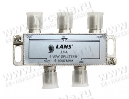 Фото1 LV 8 - Делитель TV сигналов  5-1000 МГц