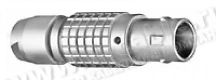 Фото1 FGG.5B.892.CNAD135 - Разъём многоконтактный гибридный (коаксиалы + управление), кабельный, штекер, с